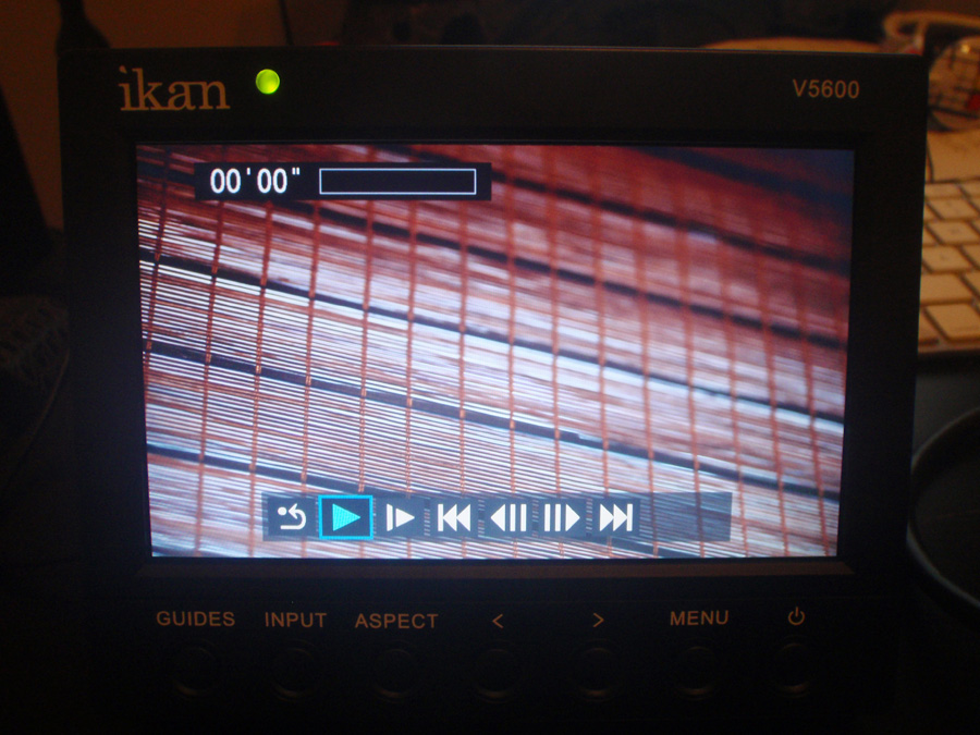 Playback on the 5DMKII