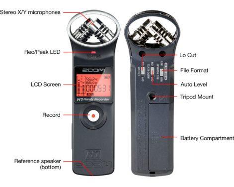New Zoom H1 audio recorder.  Multimedia journalists dream ?