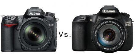 Nikon D7000 Vs.Canon 60D Vs. Canon 7D