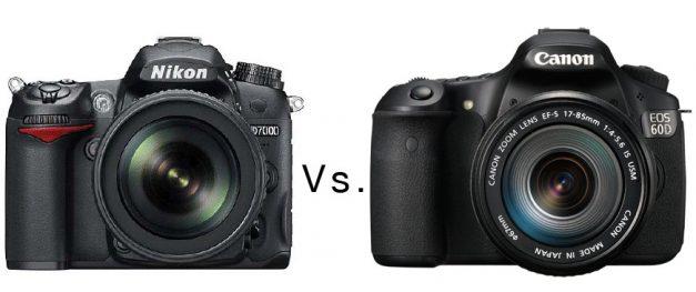 Nikon D7000 Vs Canon 60D Vs  Canon 7D