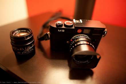 A date with the Leica M9