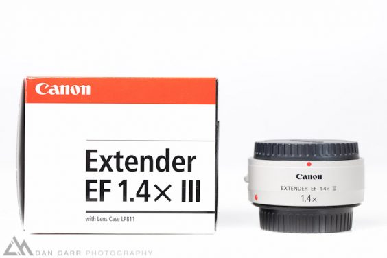 Comparing Canon's MKII and MKIII Extenders