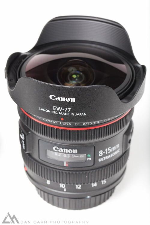 Canon 8-15 F4 L USM Fisheye Review