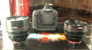 Prototype Canon Cine primes