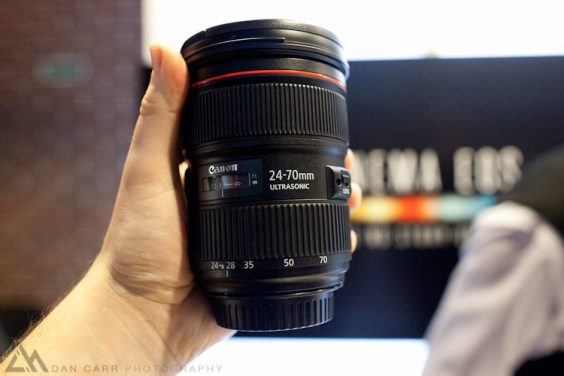 Hands On With The New Canon 24-70 & 24mm + 28mm IS Primes