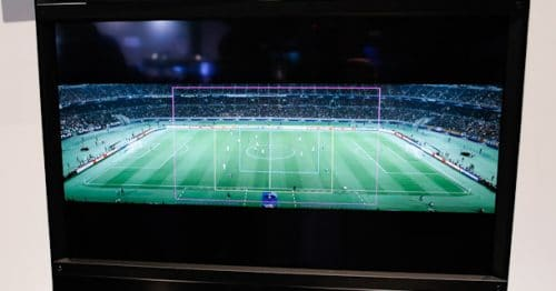 Sony Demo 8K Stitched Video Of Soccer Match