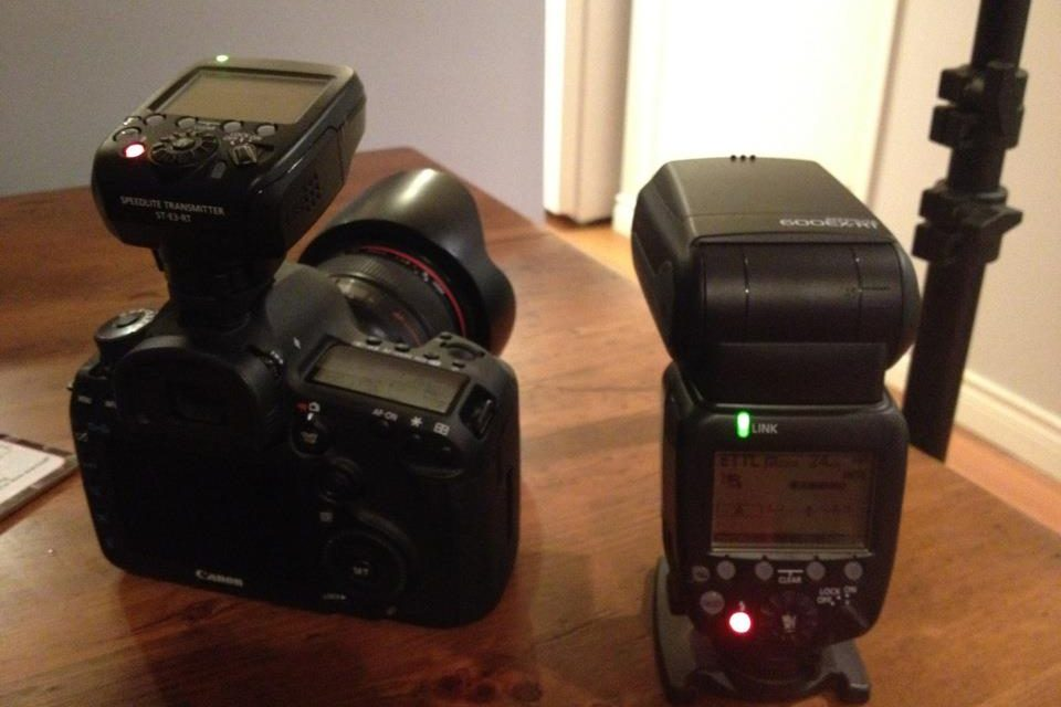 5D MK3 & Canon Wireless Flash System