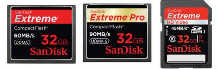 Sandisk SD Card Specials @ B&H