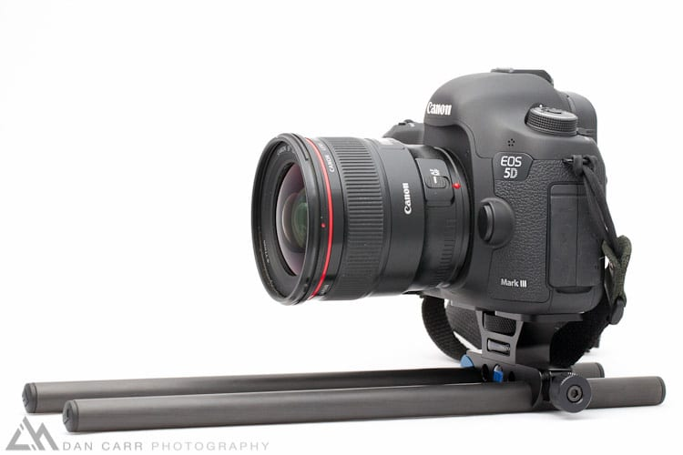 Redrock Micro DSLR baseplate with Canon 5dMKIII