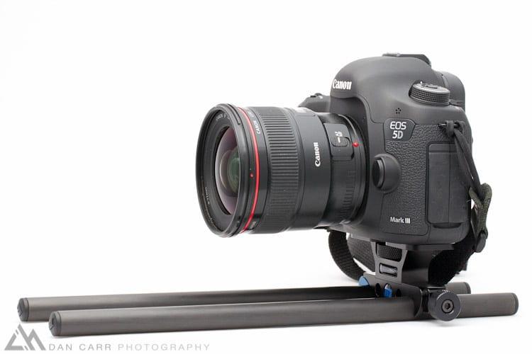 Redrock Micro DSLR baseplate with Canon 5dMKIII