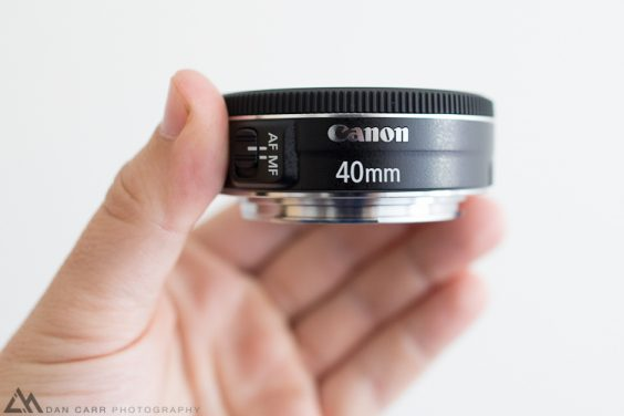 Canon 40mm f2.8 STM Pancake Review