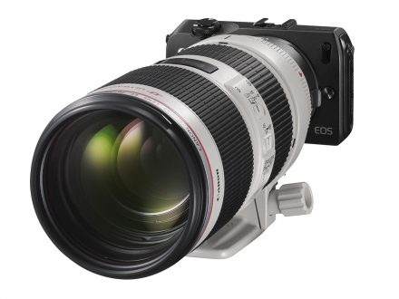 Canon EOS-M Begins Shipping In N.America Today