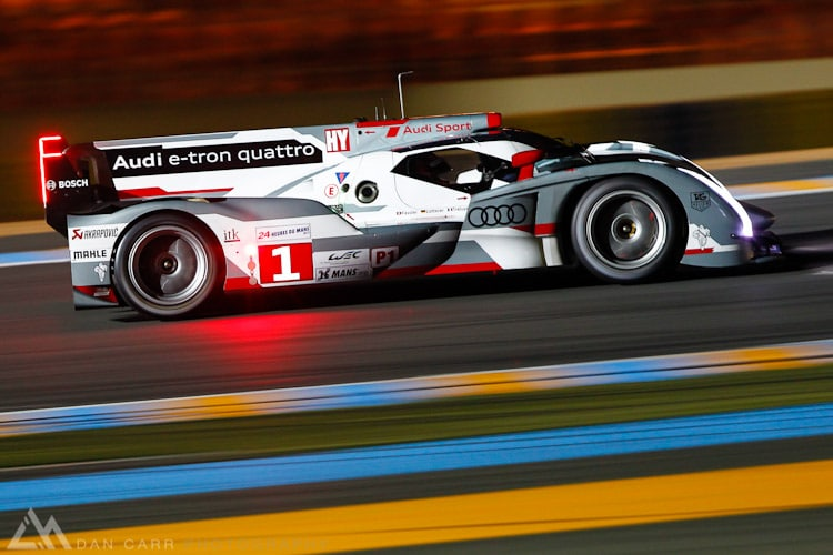 second practice for the 2012 24 Hours of Le Mans