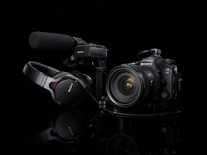 Huge props to Sony for offering a balanced XLR accessory for the A99!