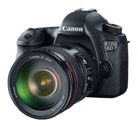 Canon Launches Entry Level Full Frame Camera – EOS 6D