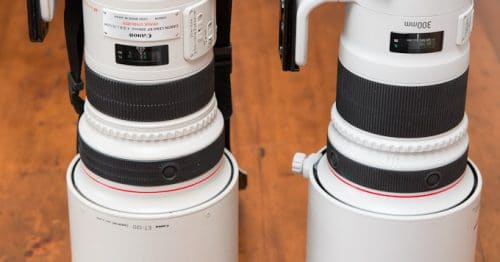 Comparison of MKi vs MKII 300mm