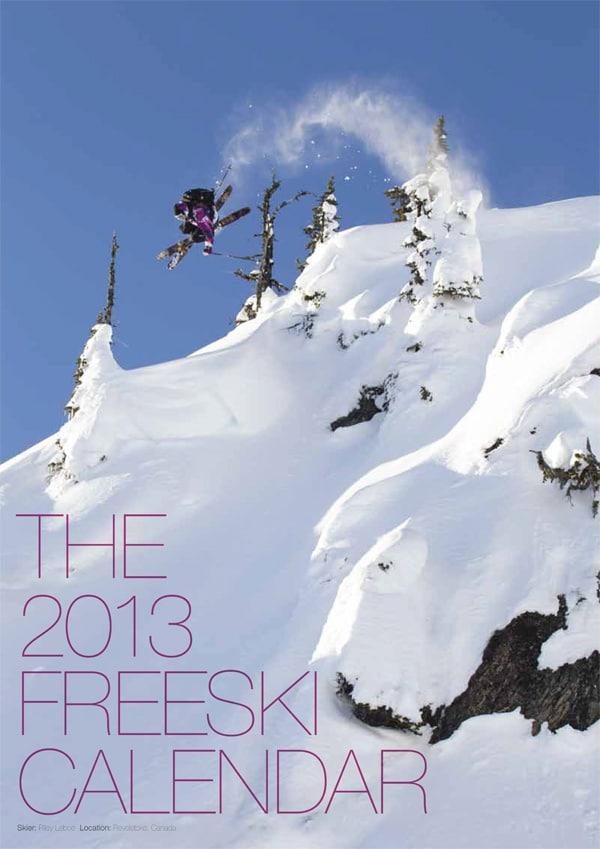 My 2013 Freeski Calendar Now Available
