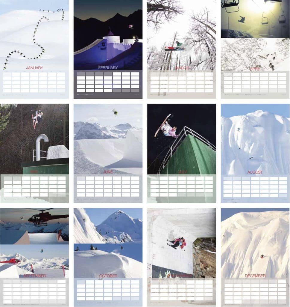 Dan Carr - Freeskiing Calendar 2013