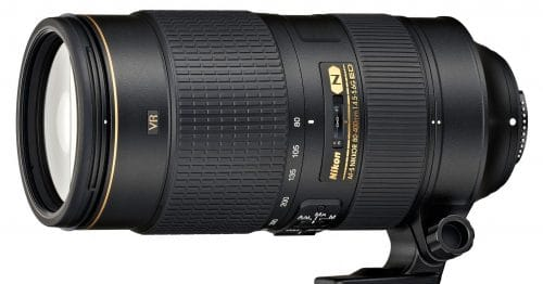 Nikon Announces New 80-400mm f/4.5-5.6G ED VR
