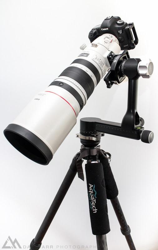 Canon 200-400 on an RRS Gimbal