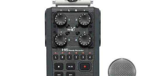 Zoom H6 Audio Coming In August