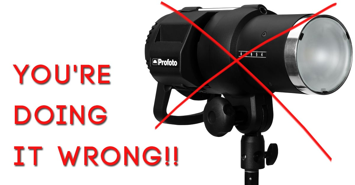 Flash Manufacturers, You're Doing It All Wrong – Profoto B1
