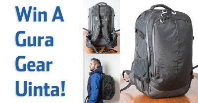 Win A Gura Gear Uinta Photography Pack