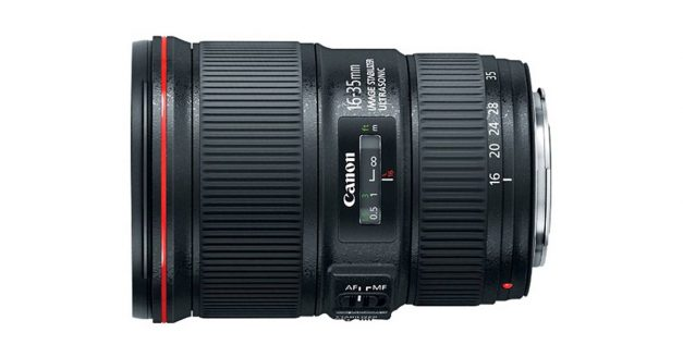 Canon Launches A New 16-35 f/4 L IS