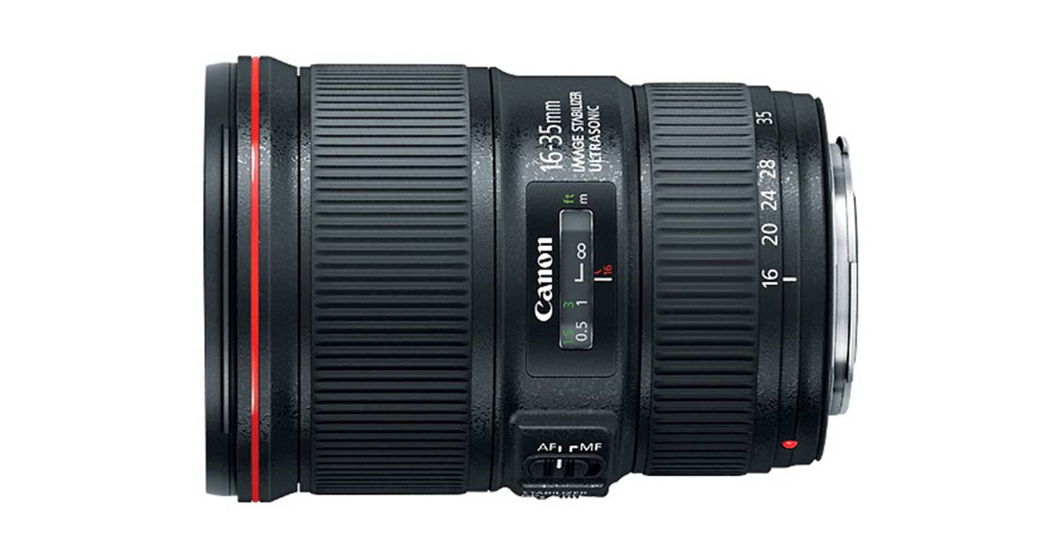 Canon 16-35 f/4 L IS
