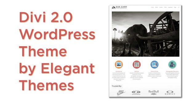 Elegant Themes – Divi 2.0 – WordPress Theme Follow Up