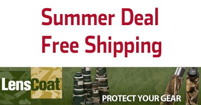 Awesome Summer Deal At LensCoat – Free International Shipping
