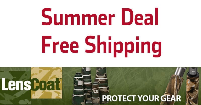 Awesome Summer Deal At LensCoat - Free International Shipping