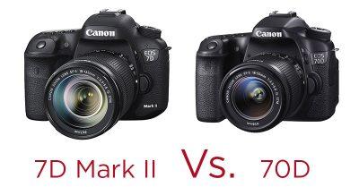 Canon 7D MkII Vs 70D