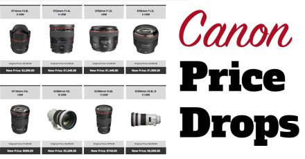 Canon Price Drops – Save Up To $800!