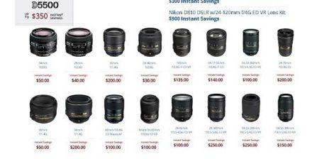 Nikon's Summer Rebates Are Live