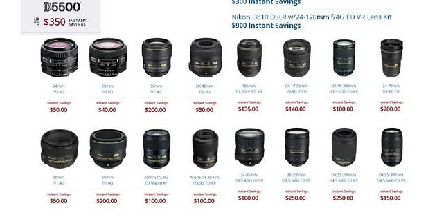 Nikon's Summer Rebates Are Live