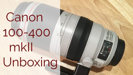 Canon 100-400mm Mk2 Is Here!