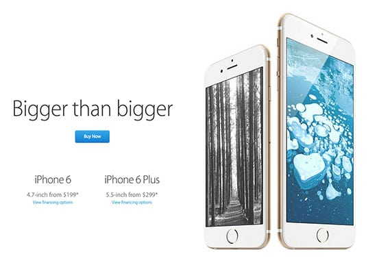 Apple iPhone Campaign