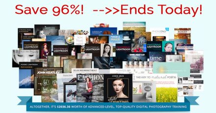Photography Bundle – Save 96% – Just Hours Remaining!