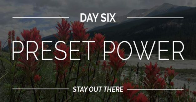 Dan #6 |Preset Power