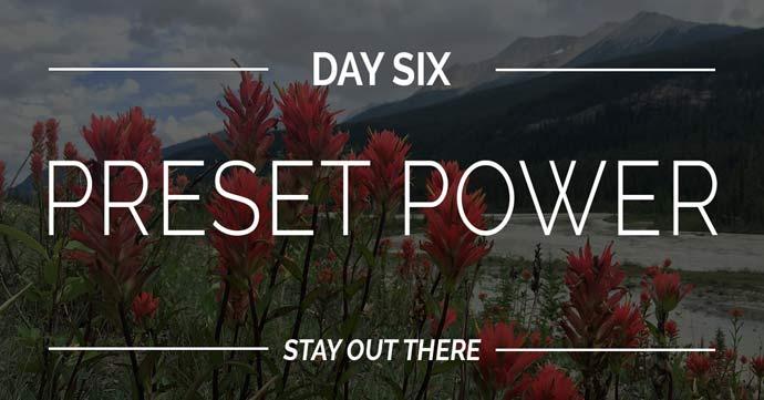Dan #6  Preset Power