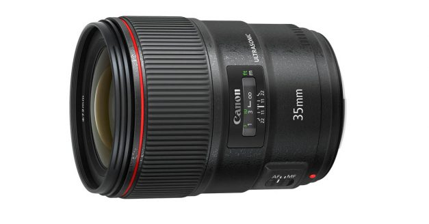 Canon's New 35mm f/1.4 II