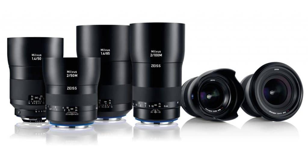 Zeiss launches new Milvus line of lenses
