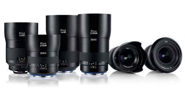 Zeiss launches new Milvus line of lenses