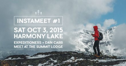Join me this weekend for an Instameet in Whistler!
