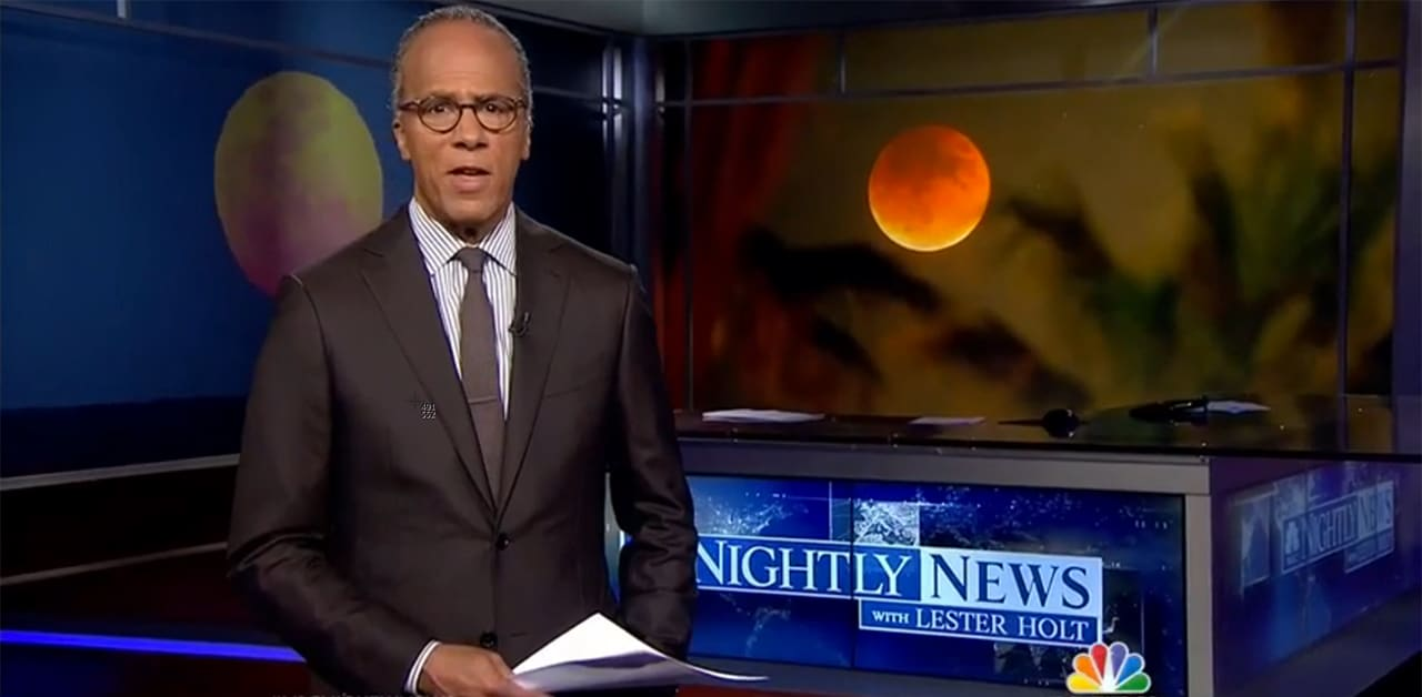 Photo on NBC Nightly News