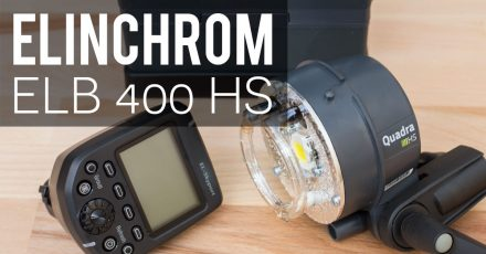 Gear Check: Elinchrom ELB 400 + HS Head – Unboxing