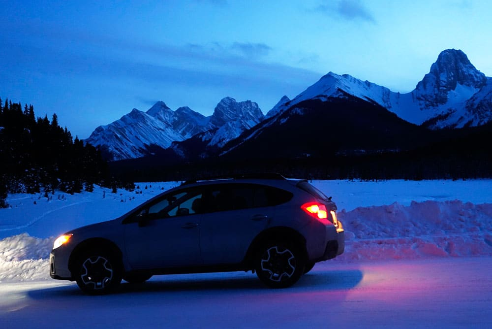 Just back from a 4000KM winter road trip to Banff National Park.