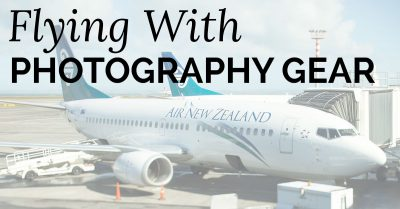 Flying With Photography Gear