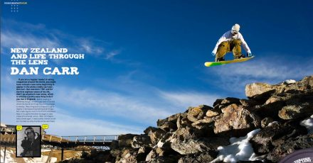 Dan Carr Featured in Ski & Snow Magazine